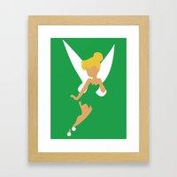 Tinker Bell Framed Art Print