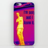 I'm sexy and I know it - Venus edition iPhone & iPod Skin