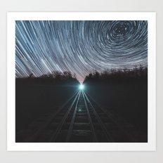 Railroad of Time Art Print