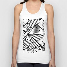 Abstract Spots Close Up Unisex Tank Top