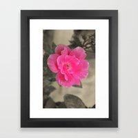 Pink Me Framed Art Print