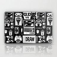Game Dev Passion - White… Laptop & iPad Skin