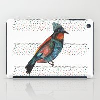 Birds and hats! iPad Case