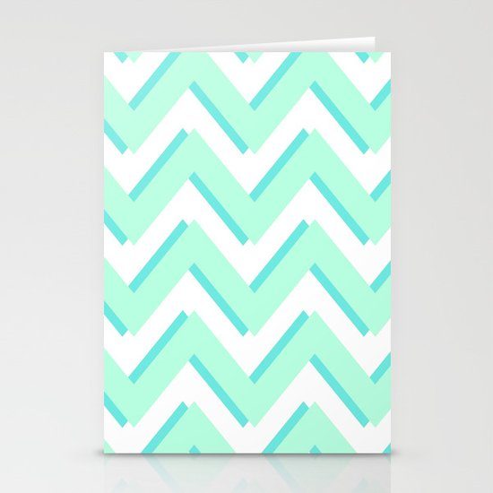 3D CHEVRON Stationery Card
