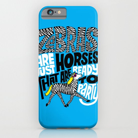 Party Horses iPhone & iPod Case