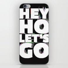 hey ho  iPhone & iPod Skin