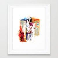 Sense VI Framed Art Print