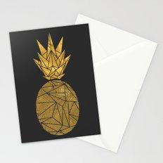 Bullion Rays Pineapple Stationery Cards