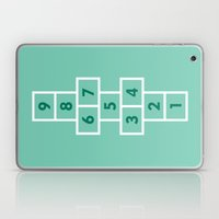 Hopscotch Mint Laptop & iPad Skin