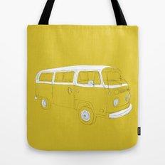 VW T2 Microbus Tote Bag