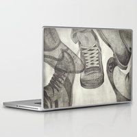 shoes Laptop & iPad Skins featuring shoes by Caterina Zamai
