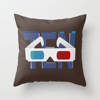 'Ten' - Doctor Who Tenth… Throw Pillow