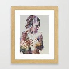 Wilderness Heart #3 Framed Art Print