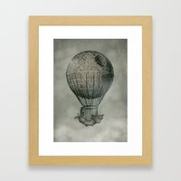 Dark Voyage Framed Art Print