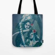 Pisces, The Sweet Dreamers: Feb 20 - Mar 20 / Original Gouache Tote Bag