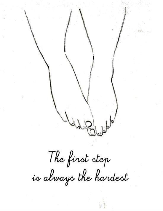 step Art Print