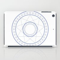 Anime Magic Circle 9 iPad Case