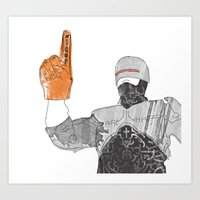 RoboCop —#1 Cop Art Print