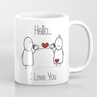 Hello I Love You Mug