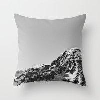 Mountain Simplicity  Throw Pillow
