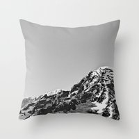 Mountain Simplicity  Throw Pillow