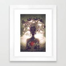 Mother Earth Framed Art Print