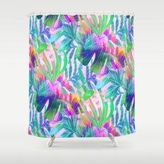 Pink Hawaiian  Shower Curtain