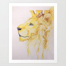 Aesop Art Print