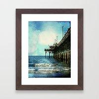 Cherry Grove SC Fishing … Framed Art Print