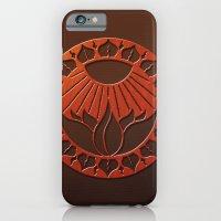 Iliahni Woodcut Print iPhone 6 Slim Case