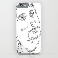 iPhone & iPod Case featuring Matthew Bellamy WordsPortrait by WordsLines