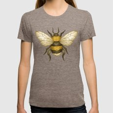 Bumble Womens Fitted Tee Tri-Coffee SMALL