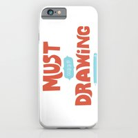 iPhone & iPod Case featuring Must Keep Drawing by Vaughn Fender
