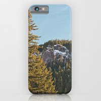 Trees in the Mountains iPhone 6 Slim Case