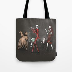 Thriller before Christmas Tote Bag