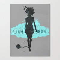 Kulture Couture Canvas Print