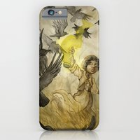 iPhone & iPod Case featuring Field of Crows by JoJo Seames