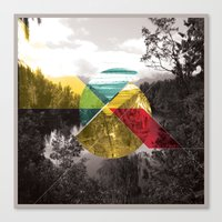 Sojourn series - Lake Mathieson Canvas Print