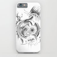 iPhone & iPod Case featuring snail by Dominic Damien