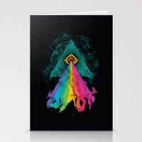 Eye Of Prism Stationery Cards