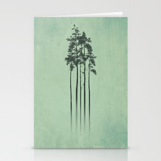Mist Stationery Card