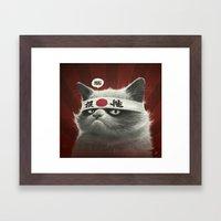 Hai! Framed Art Print
