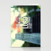 The Lord Establishes His… Stationery Cards