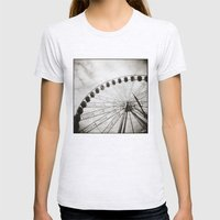 { Ferris Day Out } Womens Fitted Tee Ash Grey SMALL