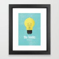 The Books Framed Art Print