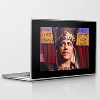 obama Laptop & iPad Skins featuring Lord Obama by DeepDesertPhoto
