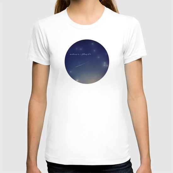 wishing on a falling star T-shirt