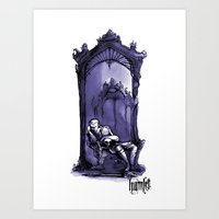 Hamlet Illustration Shak… Art Print