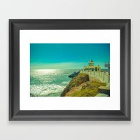Giant Camera Framed Art Print