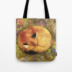 The Cozy Fox Tote Bag